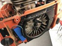 Husqvarna 390xp backwards piston   Outdoor Power Equipment Forum