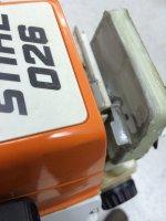 026 Pro modified airfilter & muffler mod   Outdoor Power Equipment Forum