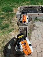 SOLD - Nice Stihl 08s $210+Ride | Outdoor Power Equipment Forum