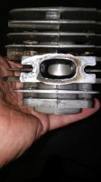 55 Rancher porting or muffler mod | Outdoor Power Equipment